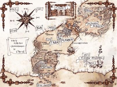 Carte d'Almenarc'hsimplifiée
