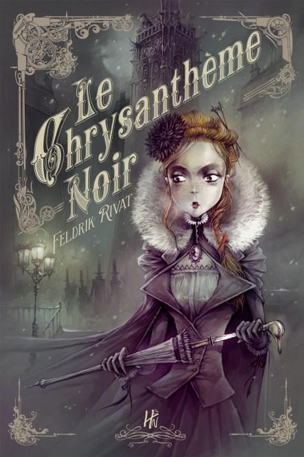 Le Chrysanthème Noir, un roman de Feldrik Rivat