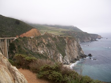From Bixby Bridge in Big Sur