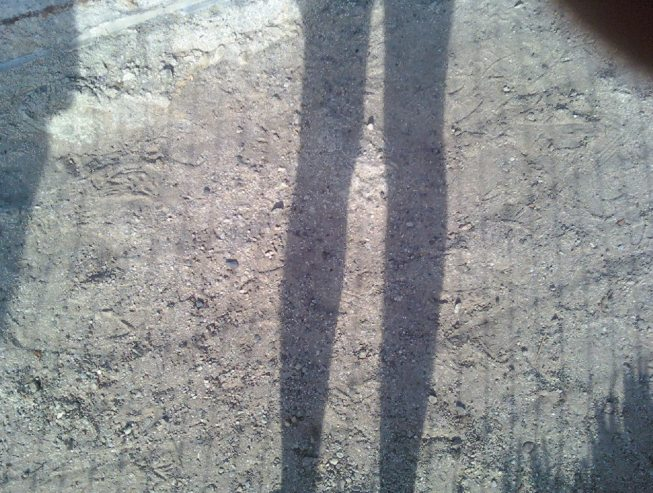 This is how I feel, like a shadow of a whole person.