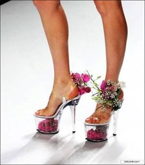 Bridal stripper shoes
