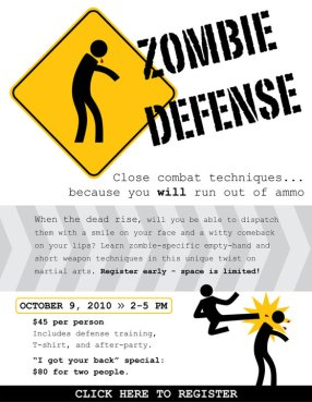 Zombie Defense Classes