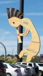 World's Largest Kokopelli in Camp Verde, Arizona.