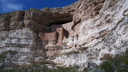 Montezuma's Castle. Montezuma Castle National Park in Arizona.