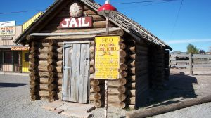 Territorial Jail House in Seligman, Arizona