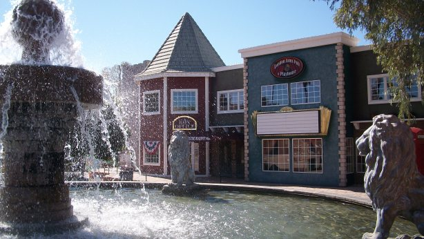 English Village at London Bridge in Lake Havasu, Arizona.