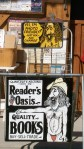 Reader's Oasis bookstore, home of the naked man, in Quartzsite, Arizona.