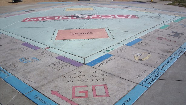 World's Biggest Monopoly Board
