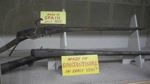 More old guns.