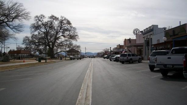 Downtown Willcox, Arizona.