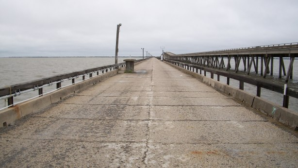 World's Longest Fishing Pier? in Copano Bay, Texas.