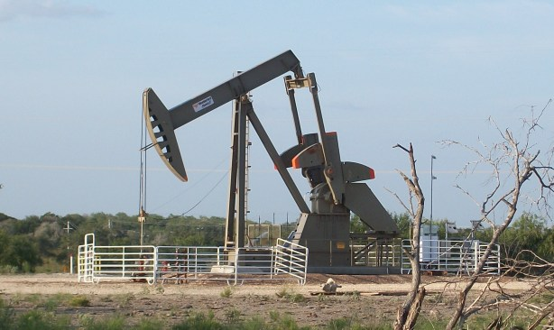 A pump jack in the oilfield.