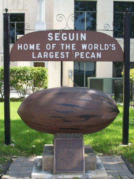 Seguin, Texas, Home of the World's Largest Pecan