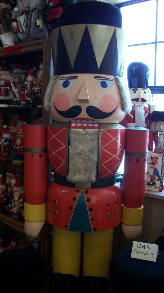 Very likely the World's Largest Nutcracker