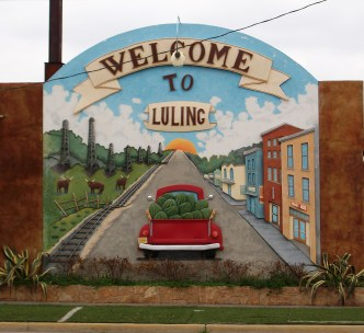The new 3D mural: Welcome to Luling!