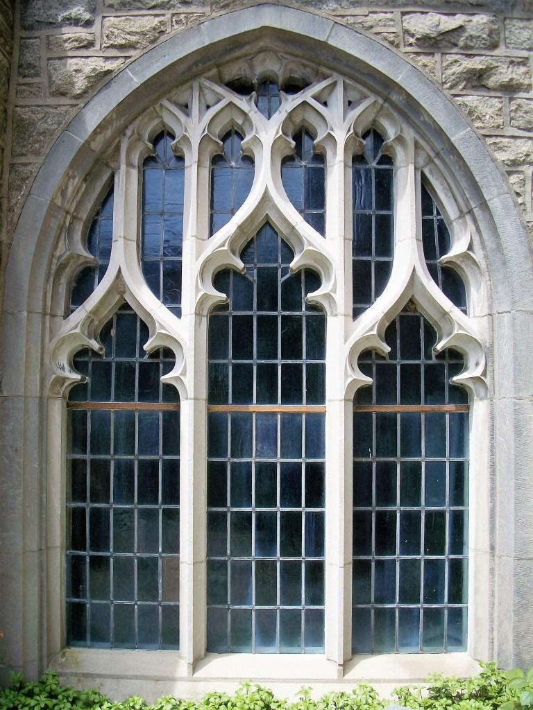 Beautiful window in church.