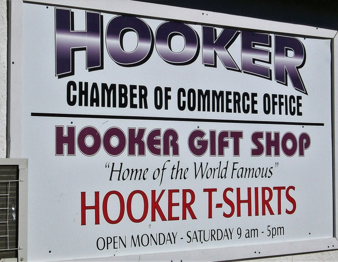 Hooker Chamber of Commerce.