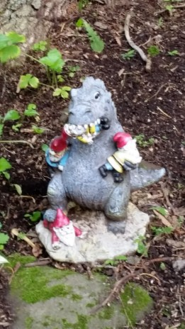 Godzilla Eats The Gnomes