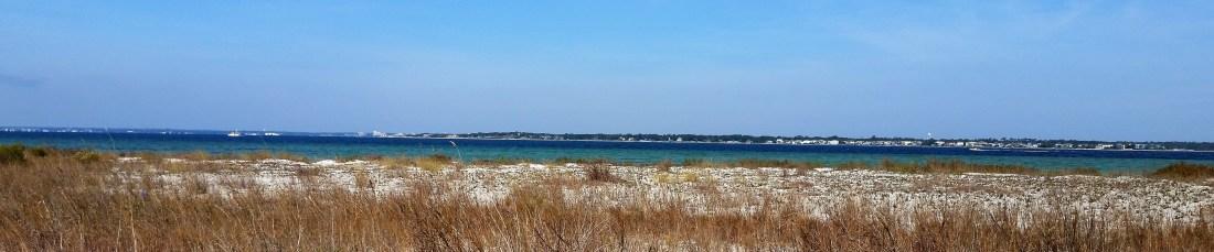 Florida panhandle beaches.