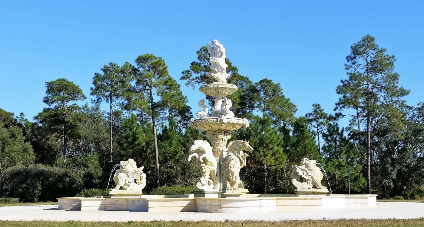 Caesars Palace fountain in Alabama.