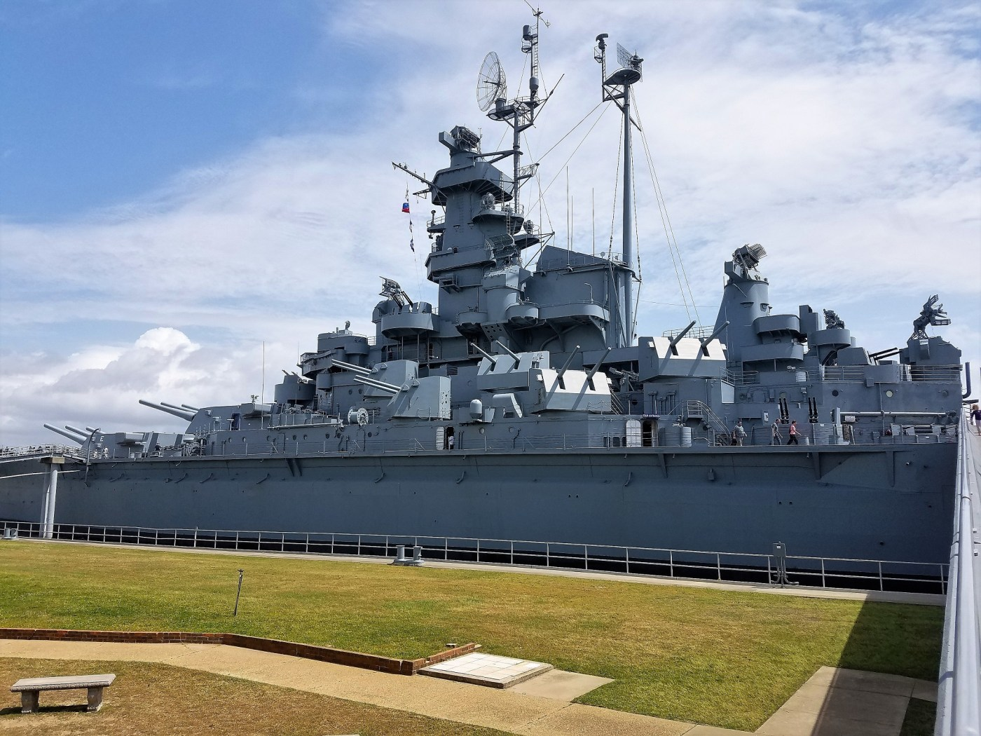 The USS Alabama