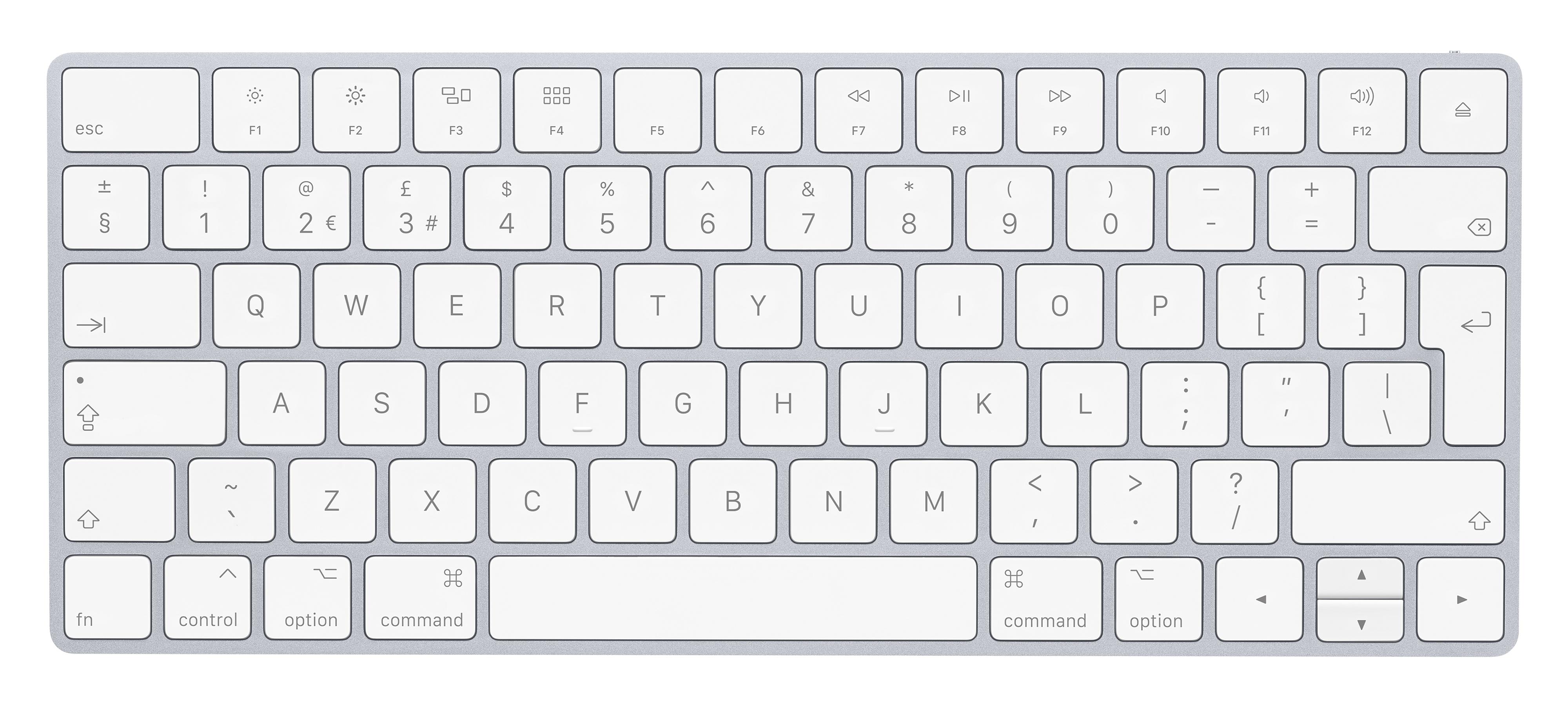 Apple Keyboard Get Function Keys Working Properly In