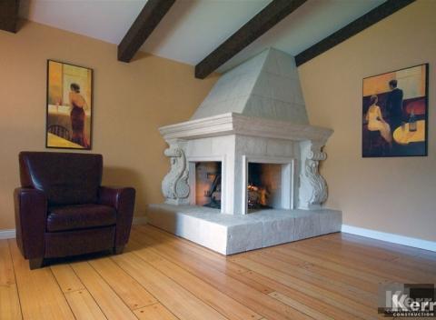 Living Room Remodel / Renovation by Kerr