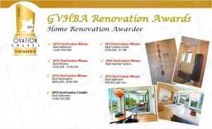 GVHBA Renovation Awards
