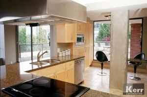 Kitchen Floor to Ceiling Windows