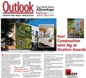 Kerr Construction Wins Big at Ovation Awards