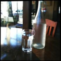 Shots of H2O.