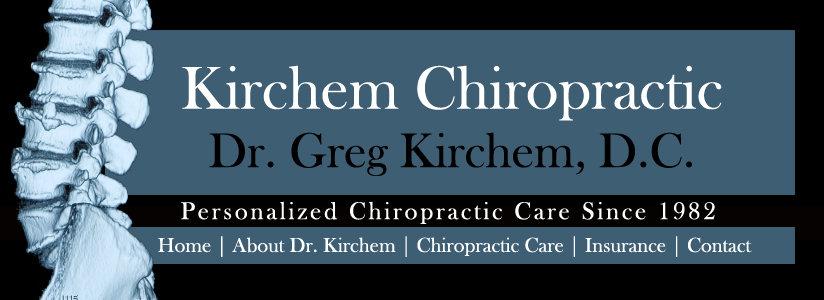 Chiropractor Website Banner