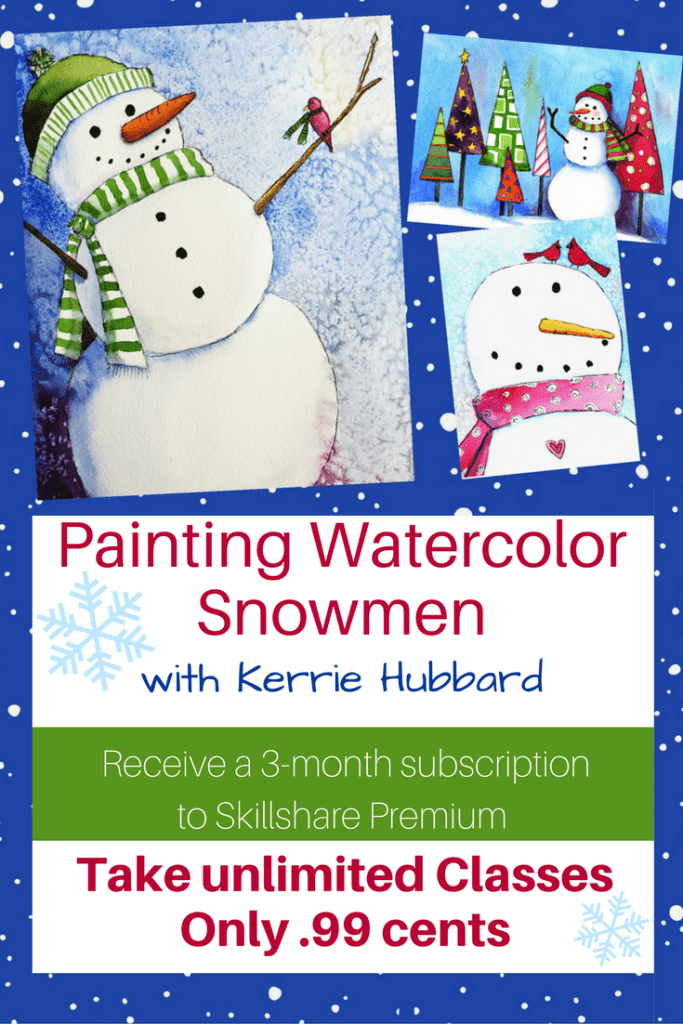 Wished you knew how to paint in watercolor? Here's your chance to overcome your intimidation in a fun online class. skl.sh/2gqliDK