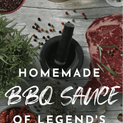Homemade BBQ Sauce of Legends