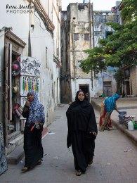 Stone Town Women on the street