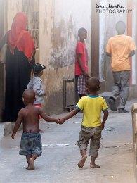 Stone Town Kids on the street