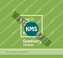 2017 Color of the year - Greenery