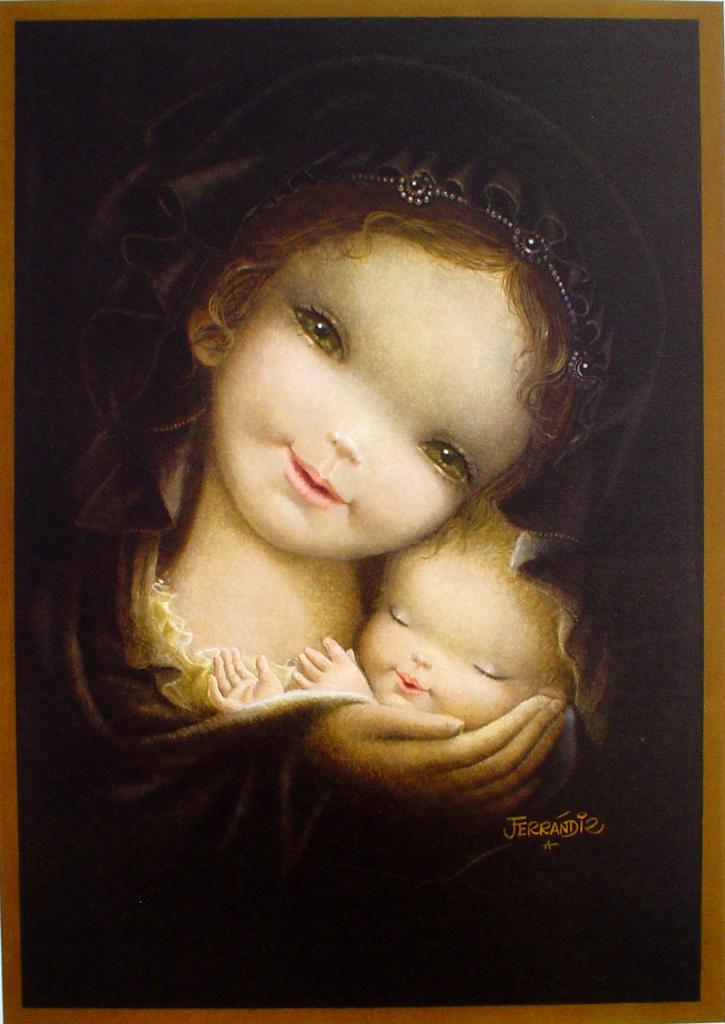 Ferrandiz Covering The Child Kerrisdale Gallery