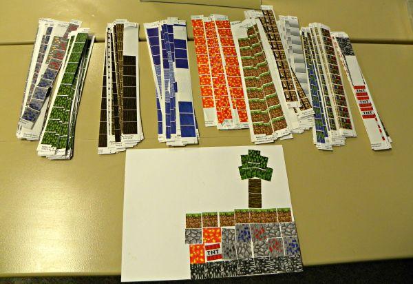 minecraft printable blocks # 27