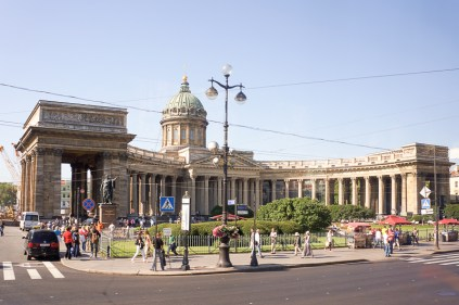 Kazan Cathedral (The Cathedral of Our Lady of Kazan)
