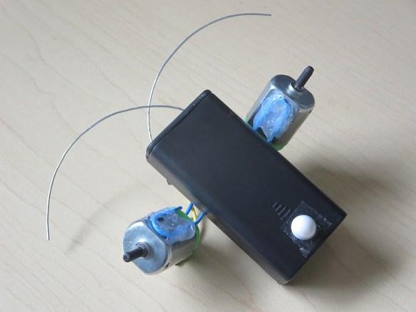 "Homemade robot ""Spout"" - Bottom View"