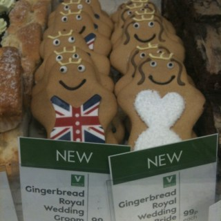 Gingerbread Royal Wedding?