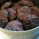 Fudgy Four-Ingredient Nutella Cookies