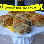 Parmesan and Olive Scones