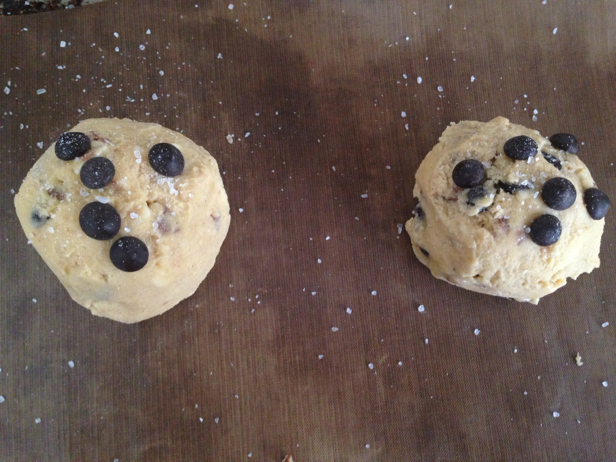 Chewy Chocolate Chip Cookies for Two