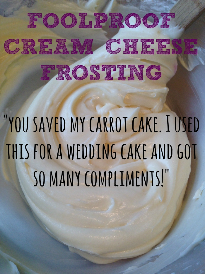 How to Foolproof Thick Cream Cheese Frosting Recipe