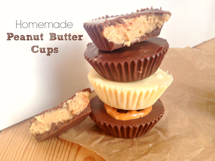 I tried making my own peanut butter cups - these are crazy good!