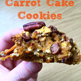 Healthy Pumpkin Carrot Cake Cookies
