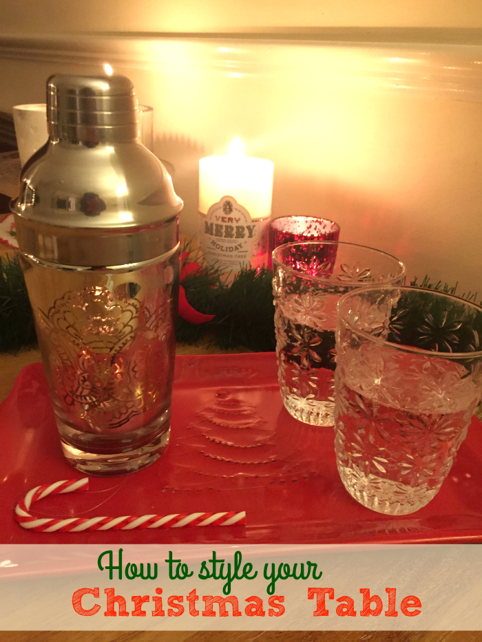 Christmas Haul with Homesense! {How to Style your Christmas Table}