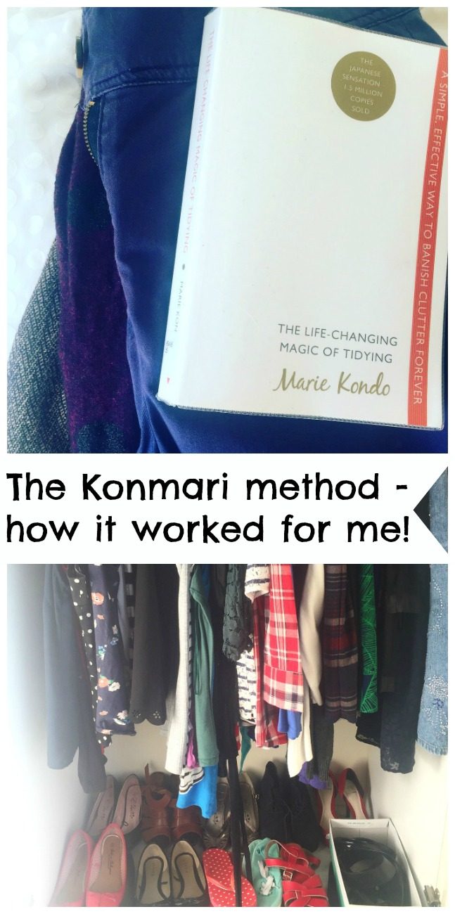 The KonMari Method – It worked for me! Will The Life Changing Magic of Tidying really change your life? Do you need to read the book at all? And does your handbag really have feelings? Read on!